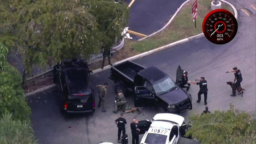 2 in custody after leading police on chase in South Florida