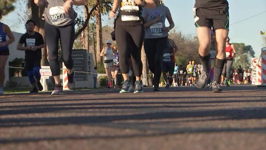 Officials: Map misinterpretation led to shorter Rock n Roll half marathon