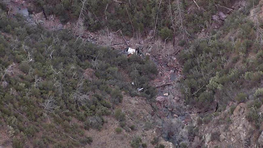 GCSO: Mesa man dead following plane crash southwest of Payson