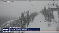 Snowfall at Arizona Snowbowl