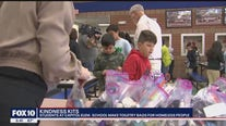 'Kindness Kits': 3rd graders at Capitol Elementary make toiletry bags for the homeless
