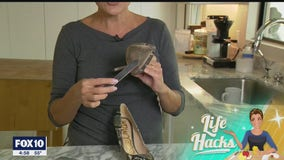Life Hacks: How to make your shoes less slippery