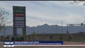 Area near the newly expanded Loop 202 South Mountain Freeway is a hot spot for developers