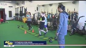 Classes at local fitness center aim to keep kids active