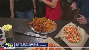 Super Bowl wings with Native Grill