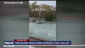 Storm brought rain, hail to parts of the Valley