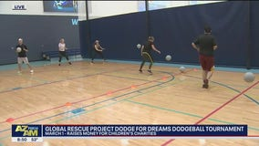 Dodge for Dreams Dodgeball Tournament raises money for children's charities