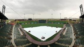 Rain affecting Cactus League Spring Training games