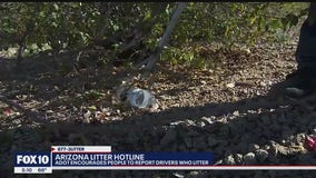 ADOT encourages people to report drivers who litter