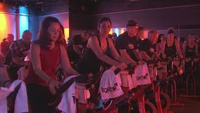 Hundreds cycle in 'Fitness for the Cure' to fight cancer
