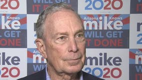 Democratic presidential candidate Michael Bloomberg opens office in Phoenix