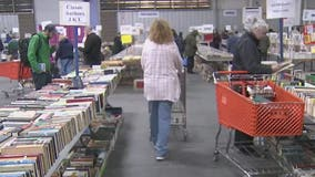 Thousands attend annual VNSA used book sale