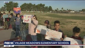 Cory's Corner: Back to school at Village Meadows Elementary School
