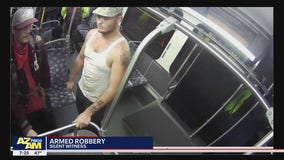 Phoenix Police looking for two armed robbery suspects