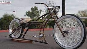$4K low rider bike stolen from a Goodyear barbershop