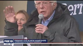 2020 Elections: Democratic candidates make final pitch as New Hampshire voters prepare to cast primary ballot