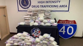 More than $12M in cocaine, meth seized from Arizona big rig