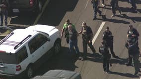 Suspect in custody following police chase in Phoenix