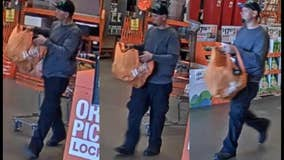 Phoenix Police search for man accused of stealing from Home Depot store