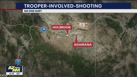 DPS investigating trooper-involved shooting near Holbrook