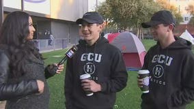 Havocs 2-day camp out: GCU students camp out for basketball tickets