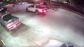 Phoenix police: Driver runs man over in truck, drags him 50 feet at gas station
