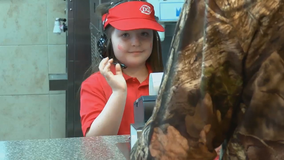 Girl with rare disease becomes boss for a day of Georgia Dairy Queen