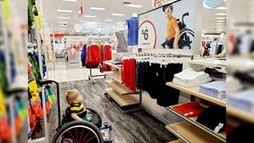 Valley toddler's reaction to Target ad featuring boy in wheelchair goes viral