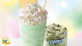 McDonald's releasing Shamrock Shake and introducing Oreo Shamrock McFlurry this month