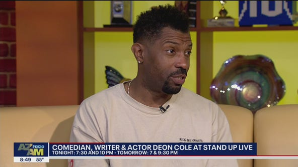 Comedian Deon Cole to perform at Stand Up Live