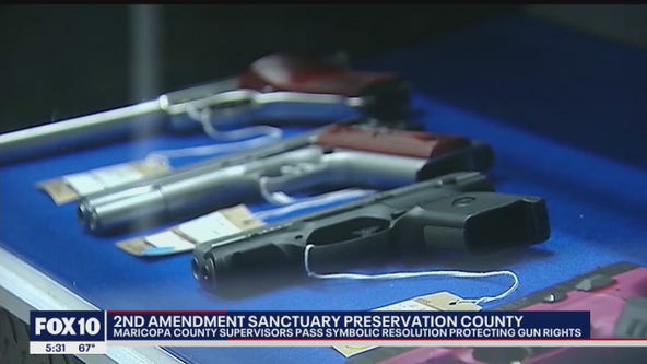 Maricopa County Board of Supervisors pass '2nd Amendment Preservation County' resolution