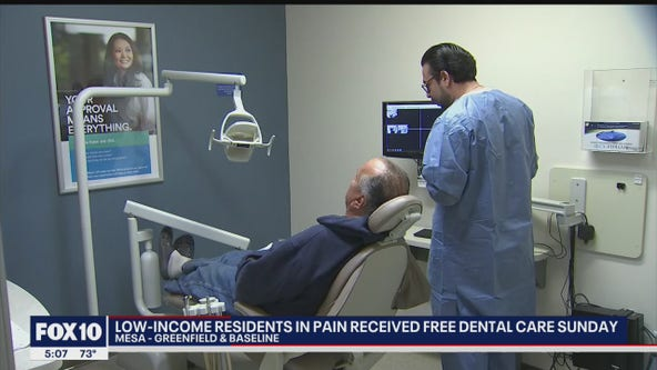 Valley residents in need received free dental care thanks to local non-profit