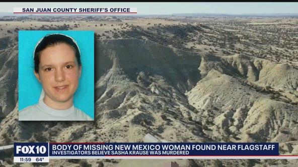 Body of missing New Mexico woman found in Arizona identified