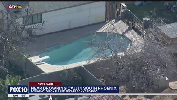 Phoenix Fire: Boy found in pool at South Phoenix home