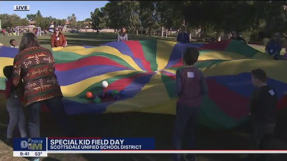 Cory's Corner: 'Special Kids Field Day' with the Scottsdale Unified School District