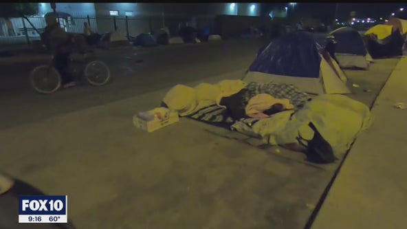 Business owners, nearby residents frustrated with homeless encampment in Central Phoenix