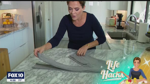 Life Hacks: How to prevent those cloth hanger bumps from forming on clothing
