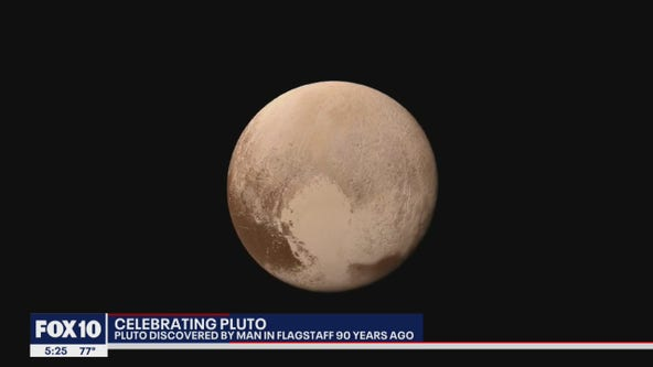 Lowell Observatory in Flagstaff celebrates the 90th anniversary of Pluto's discovery