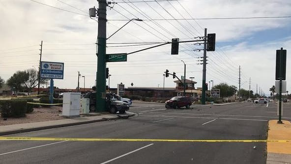 Police: Passenger dead following crash involving two SUVs in North Phoenix
