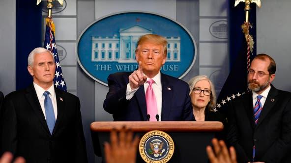 President Trump says US 'very ready' for coronavirus; VP Pence to lead response