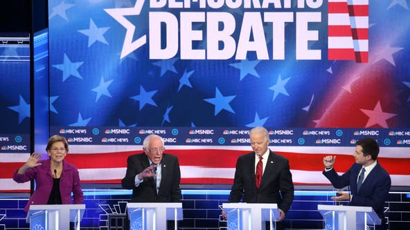 AP FACT CHECK: Dems' debate flubs; Trump untruths at rally