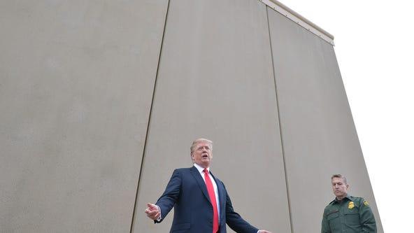 Arizona tribal leader: Work to build border wall hurts sacred land