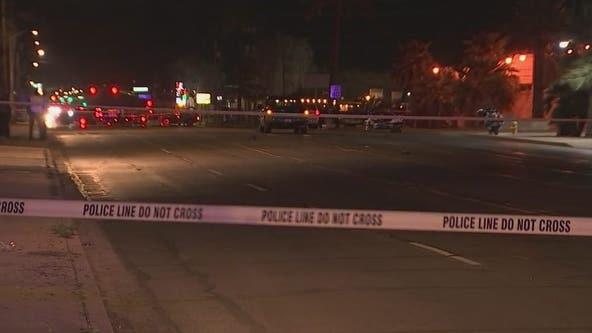 Man dies after being struck by truck in south Phoenix