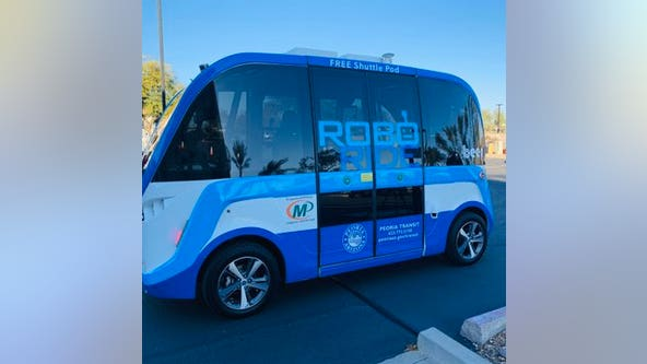 Autonomous shuttle coming to Peoria as part of 60-day pilot program