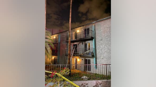 6 residents displaced after fire damages west Phoenix apartment building
