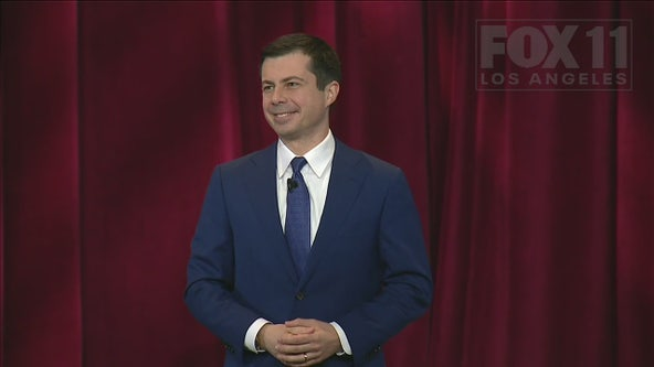 Pete Buttigieg fields questions at town hall day after fiery Las Vegas Democratic debate