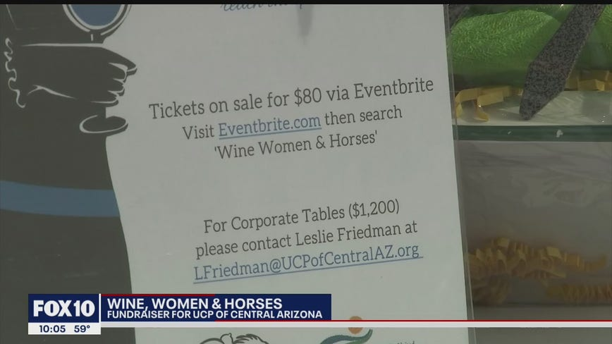 'Wine, Women, Horses' fundraiser on Feb. 29 benefits UCP of Central Arizona