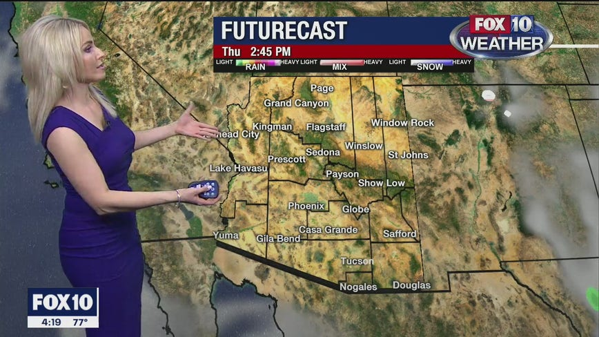 4 p.m. Weather Forecast 2/19/20