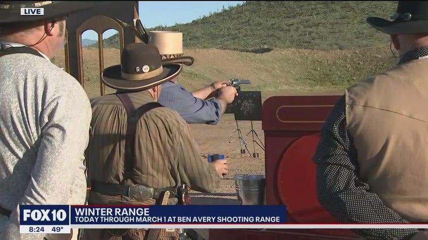 Cory's Corner: Winter Range at Ben Avery Shooting Range