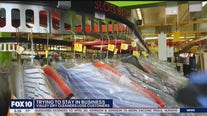 Valley dry cleaning business lost nearly all customers during COVID-19 pandemic, owner says
